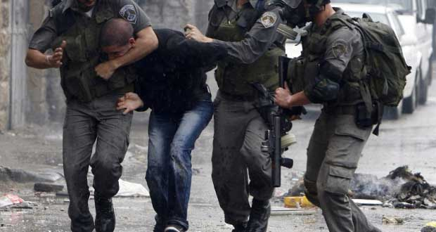 Israeli occupation forces arrest ten Palestinians, among them a girl, in West Bank
