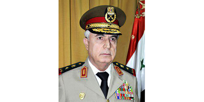 Syria is a role model for confronting terrorism - Defense Minister