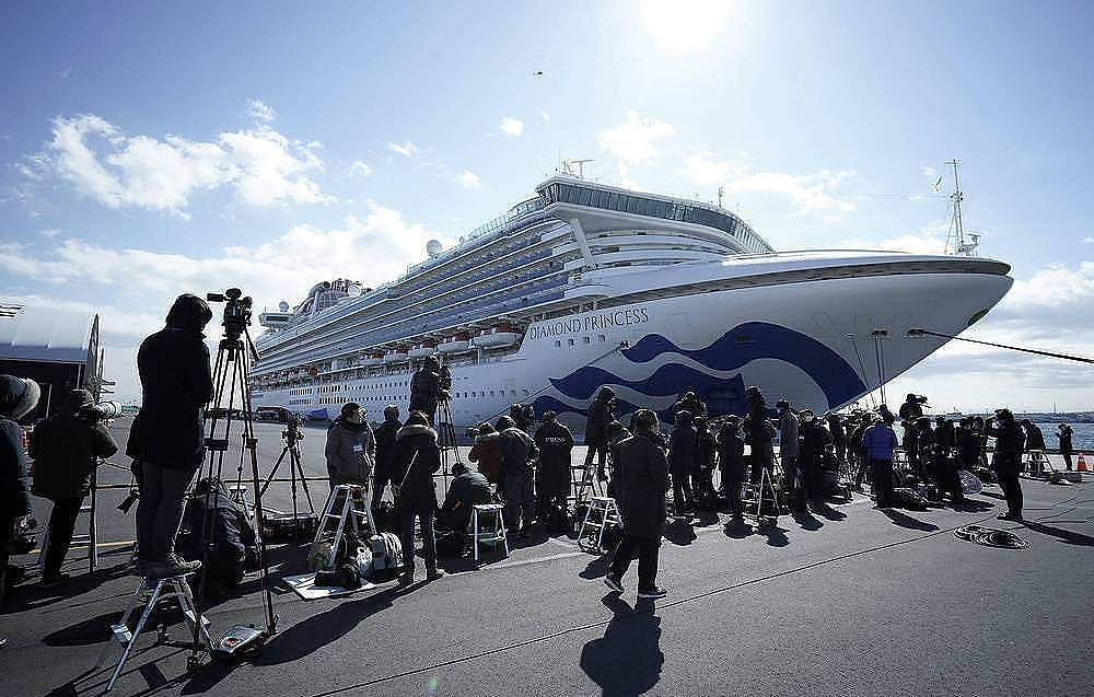 On board Coronavirus cases of cruise ship in Japan increased to 355 - Authorities