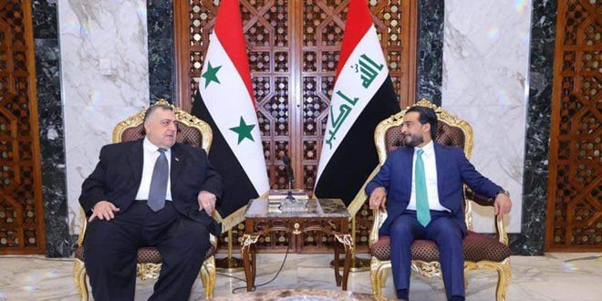 Syria participates in conference of parliaments of Iraq's neighboring countries