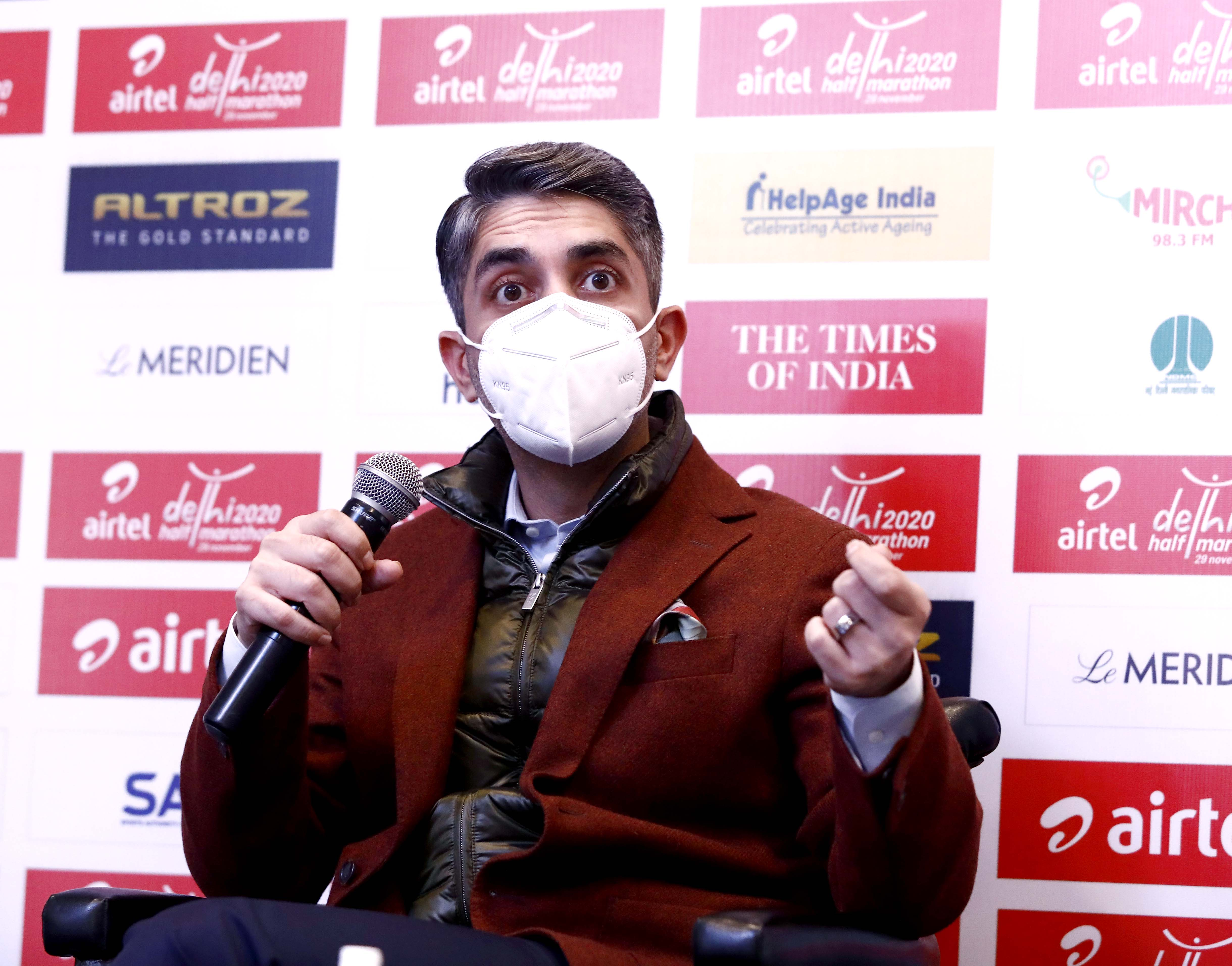 Airtel Delhi Half Marathon 2020 will unite the people of India - Abhinav Bindra