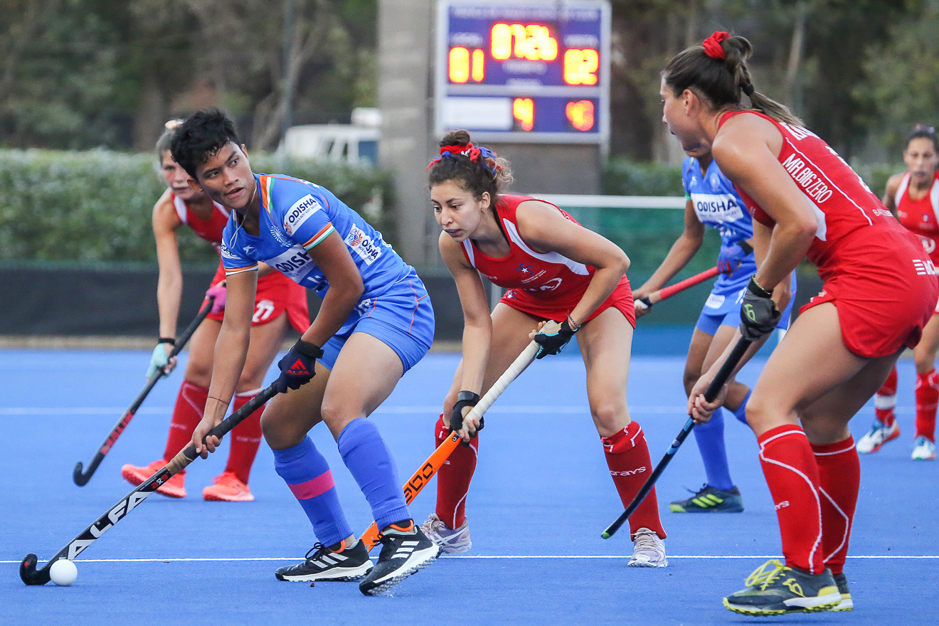 Indian Junior Women's Hockey Team remain undefeated; beat Chile Senior Women's Team 2-1 in last match