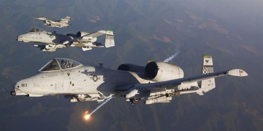 Airstrikes killed 8 Taliban and ISIS militants, destroy weapons cache and a car bomb