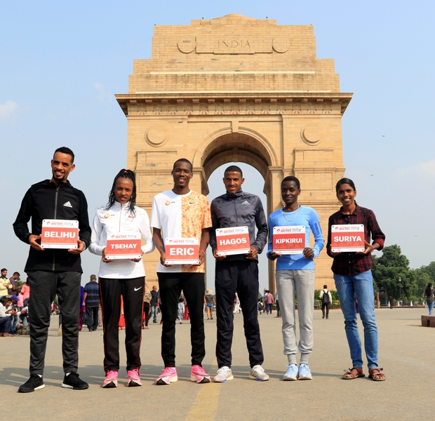 Defending champions Belihu and Gemechu to chase Airtel Delhi Half Marathon course records