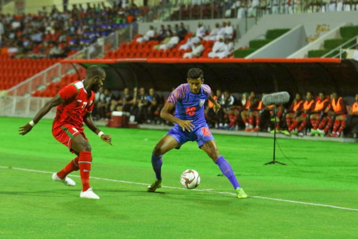 India go down by a solitary goal in Muscat