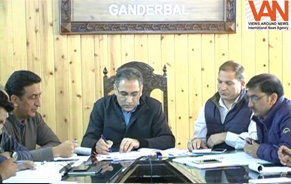 Ensure all arrangements beforehand in a time bound manner for Shri Amarnath Yatra 2019 - DDC Ganderbal