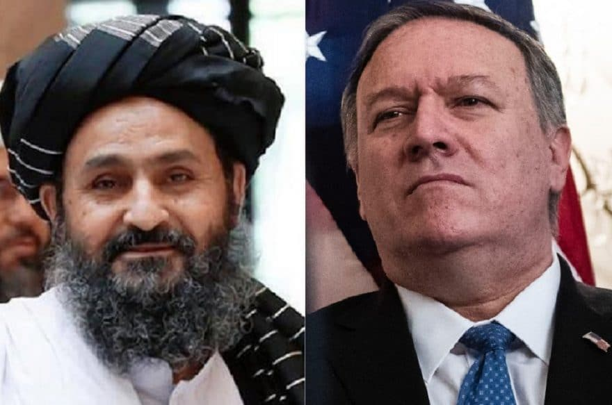 Taliban release details of video teleconference between Pompeo and Mullah Baradar
