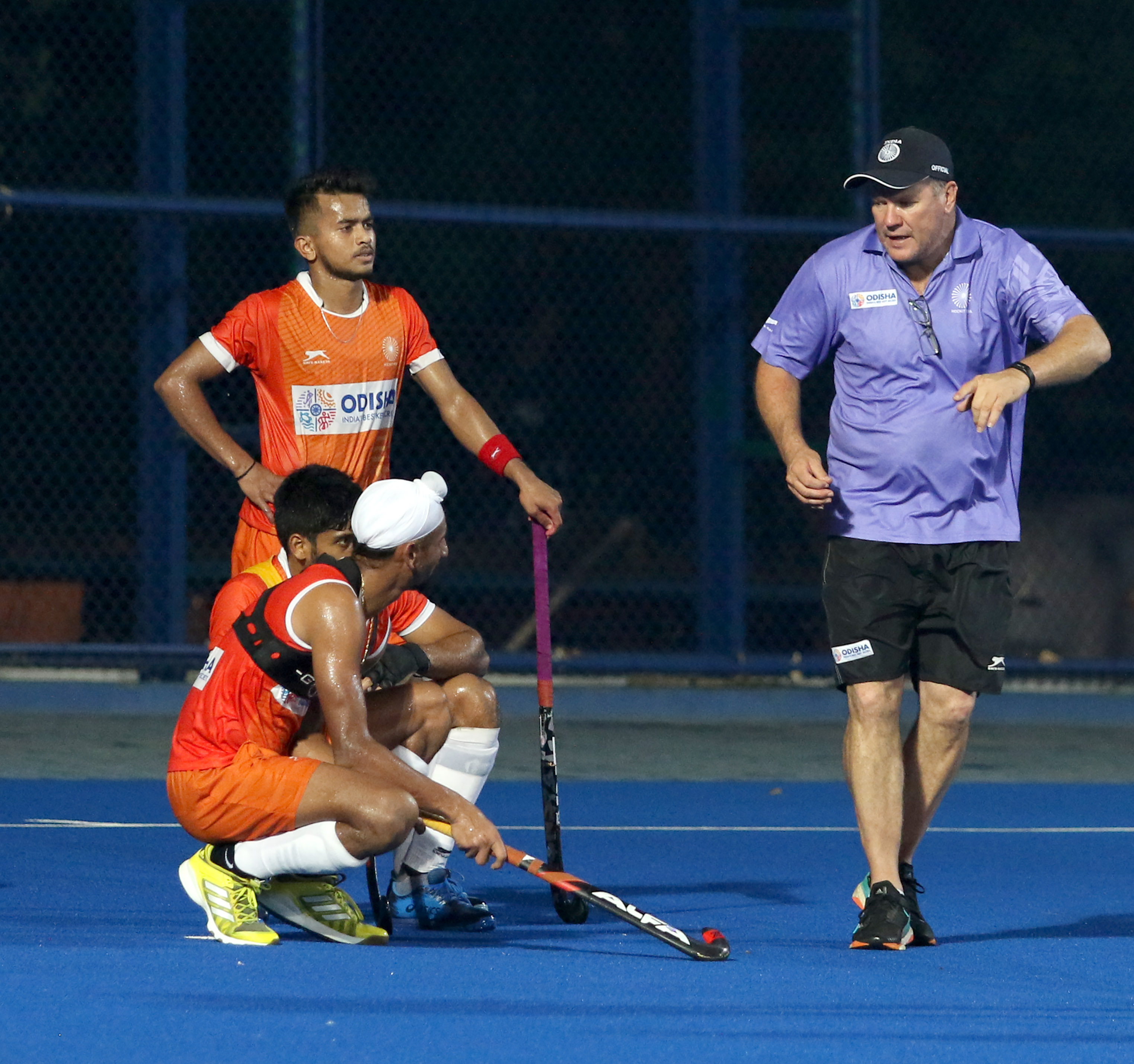 Indian Hockey Teams kick-start Olympic Test Event against familiar foes