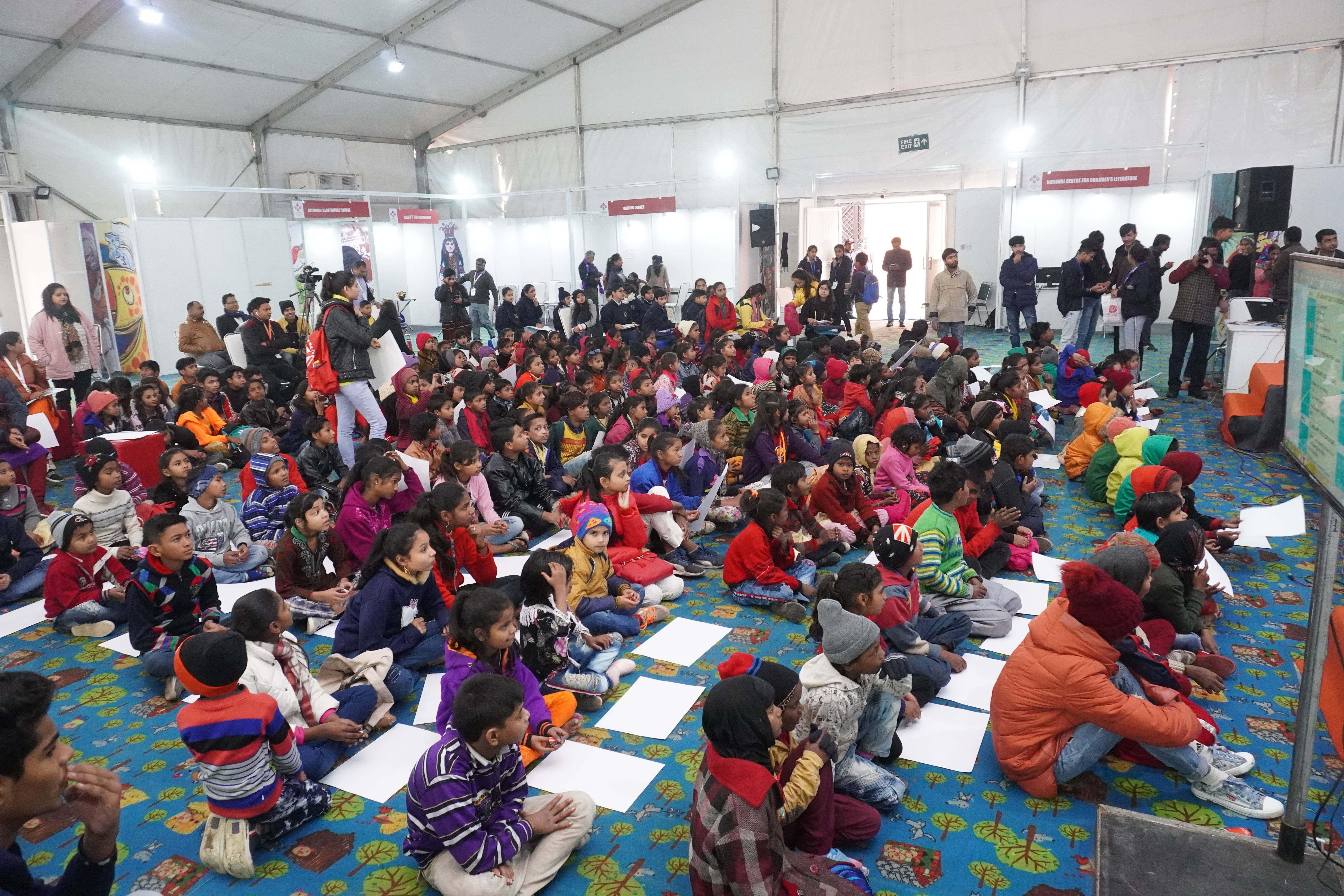 Presence of various international exhibitors at New Delhi World Book Fair 2020