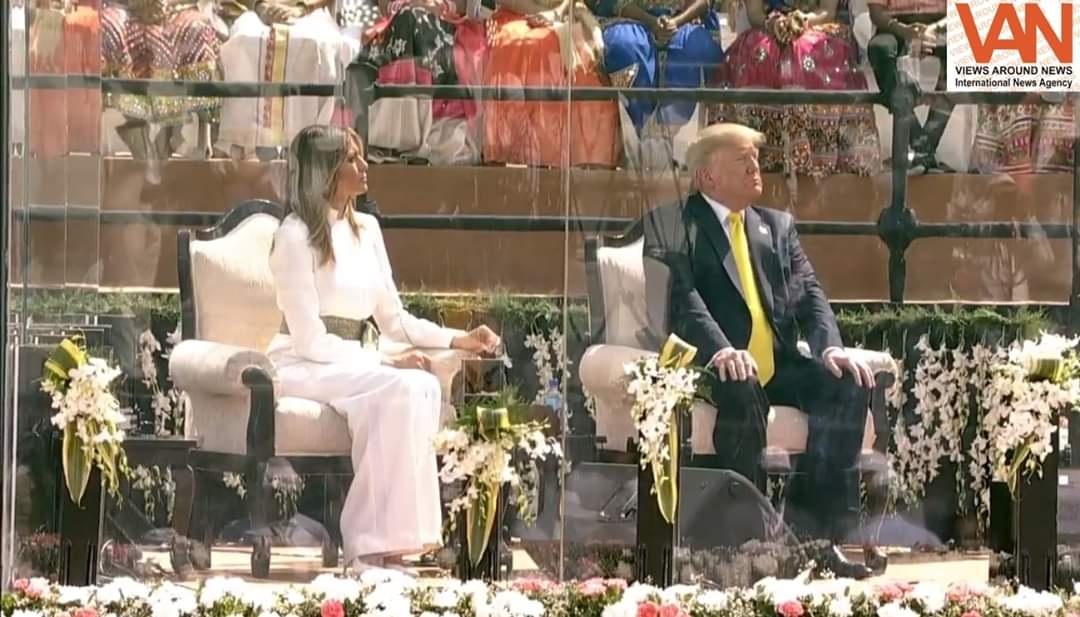 After the historical & memorable first day of President Trump in India, his today's schedule is... ... ..