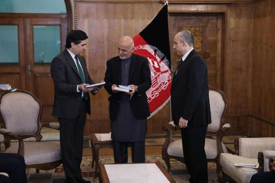 Nooristani's son-in-law joins the president's electoral team in Afghanistan