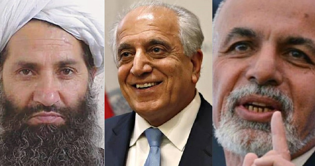 Khalilzad reacts to declaration of ceasefire by Taliban and Afghan government during Eid Days
