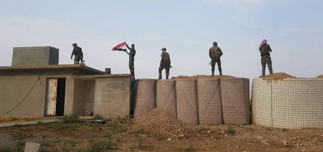 Syrian Army enters Yalda castle, fortified positions in Tal Tamr/Al-Ahras area