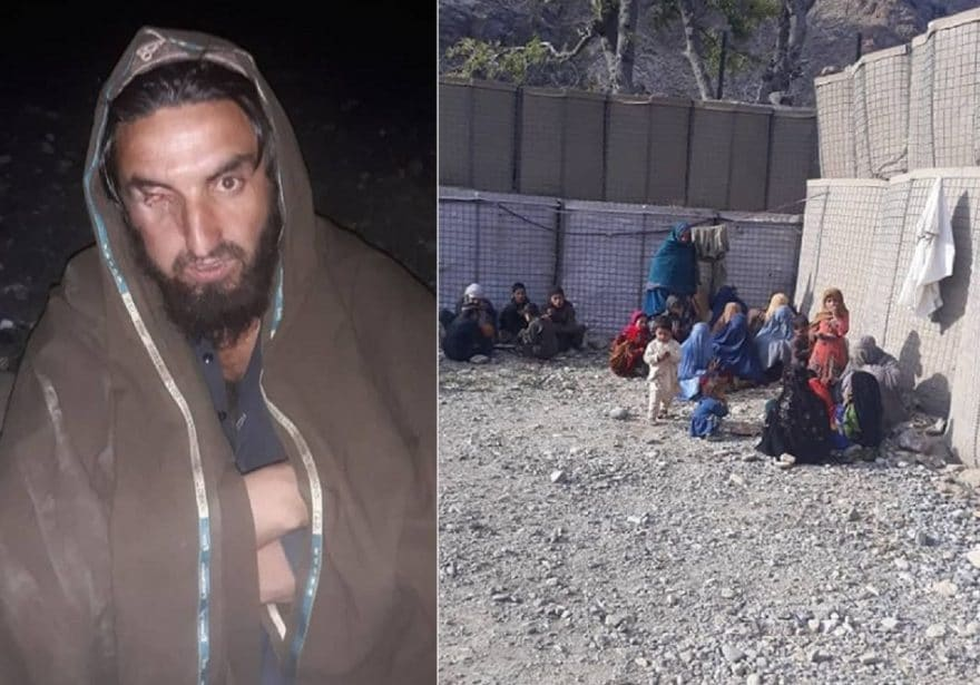 ISIS militant surrendered with 45 family members of his comrades to Afghan Special Forces