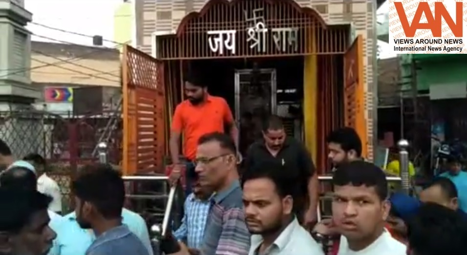 After Delhi's incident; now temple demolition attempt in Uttar Pradesh