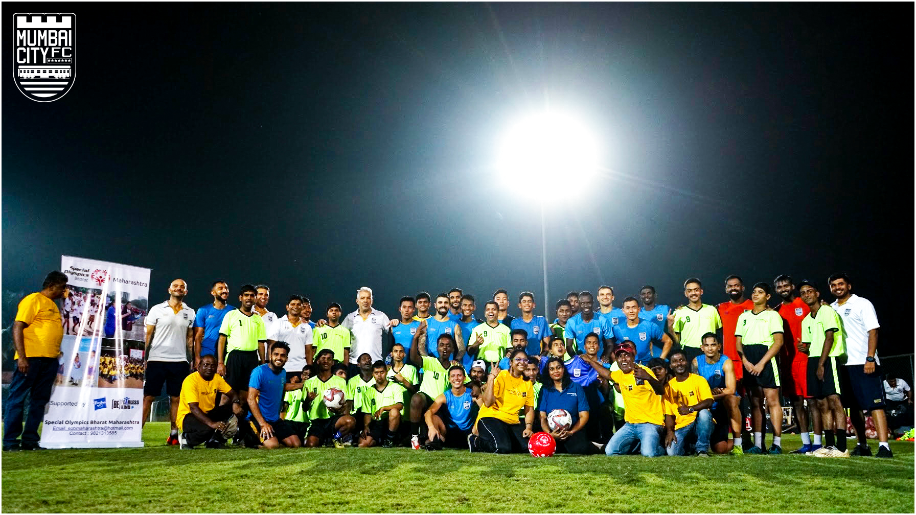 Special Olympics Bharat - Maharashtra team trains with Mumbai City FC