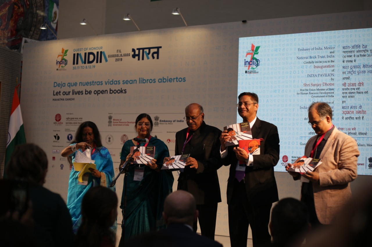 33rd edition of the Guadalajara International Book Fair inaugurated with India as Guest of Honour Country