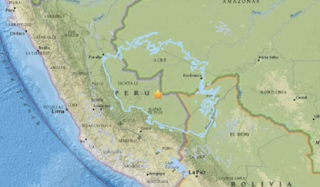 Powerful earthquake hitted Peru damages houses, disrupts power supply