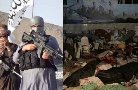 63 killed and more than 180 wounded in Kabul wedding hall explosion; Taliban reacts