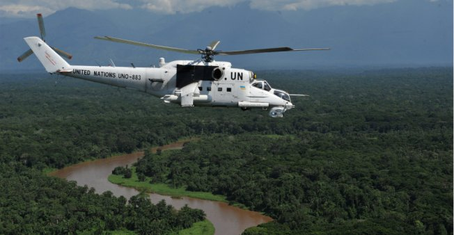 Seven UN peacekeepers killed in eastern DR Congo fighting