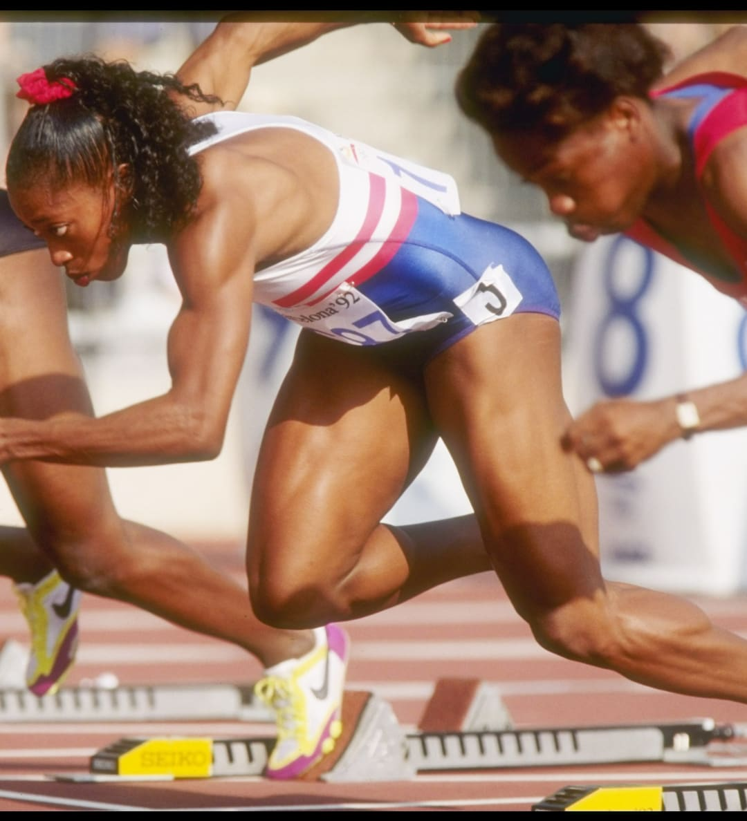 Great Olympic moments - Barcelona 1992 Women's 100m Final