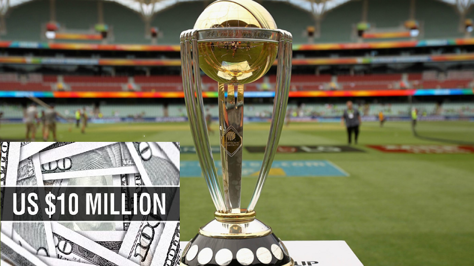 Highest $ 10 Million Prize for ICC Men's Cricket World Cup 2019