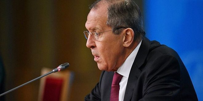 Lavrov underlines importance of crushing terrorist organizations in Idleb