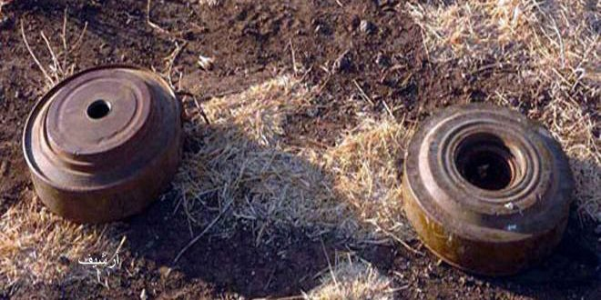 Two martyred, three injured in a mine blast in Syria