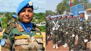 Major Suman Gawani awarded the United Nations Military Gender Advocate of the year Award