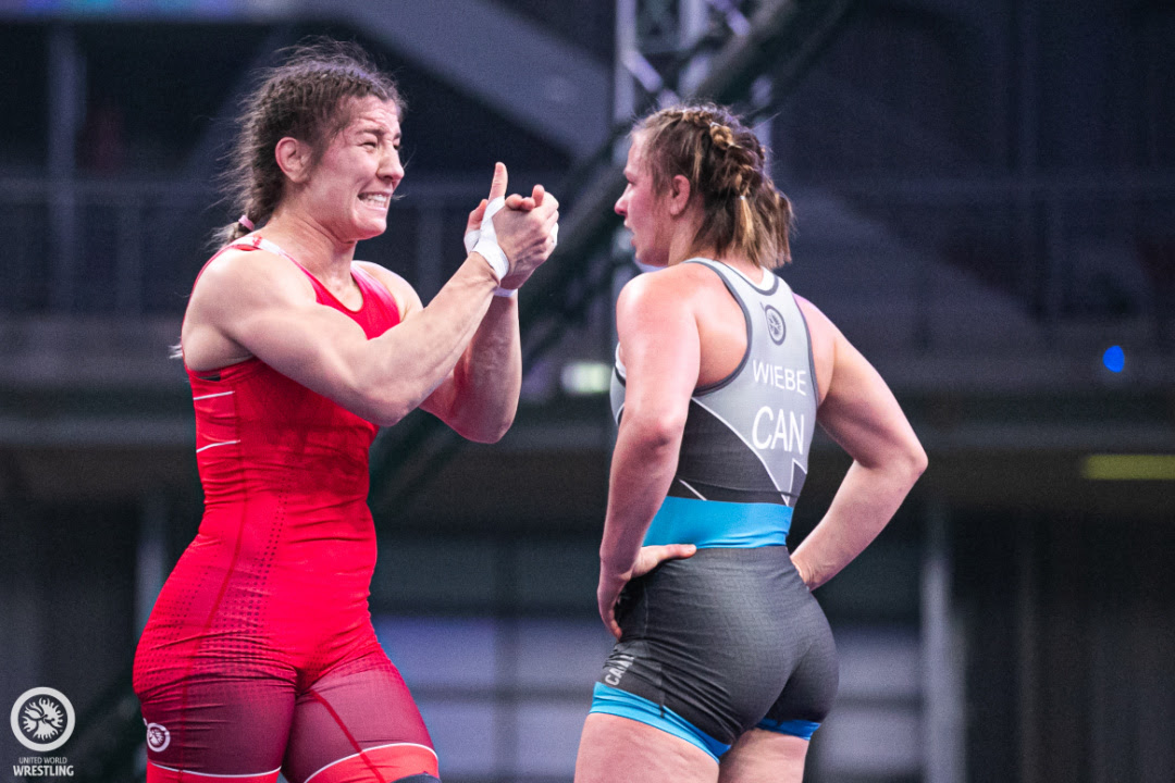 Adar Pins Olympic Champ Wiebe, Moldova Advances 3 to Finals