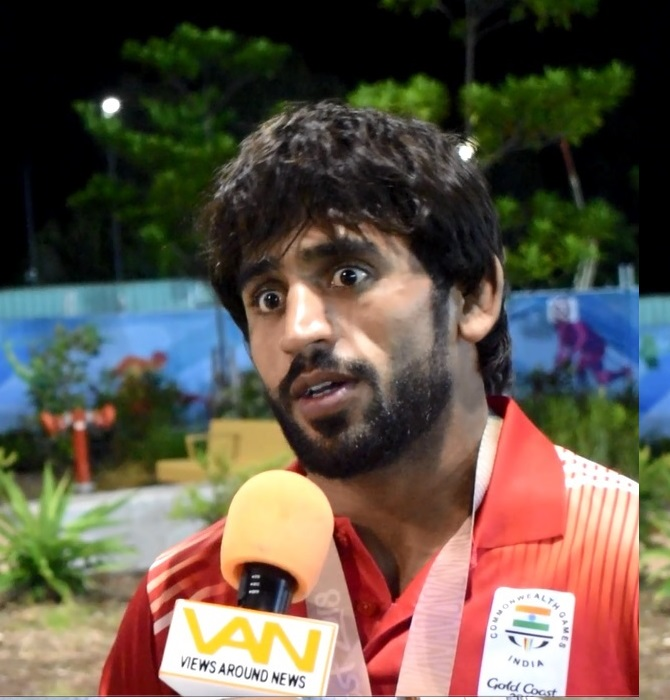 Bajrang Punia books berth for World Championship