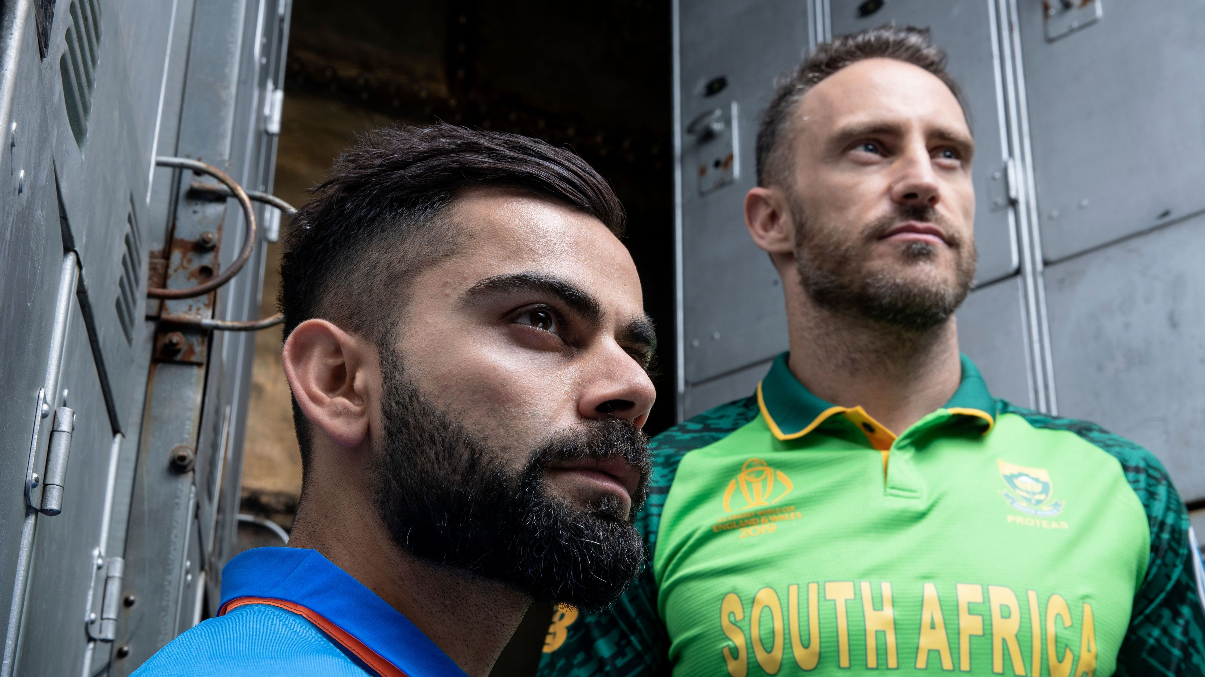 India & South African's captain before match