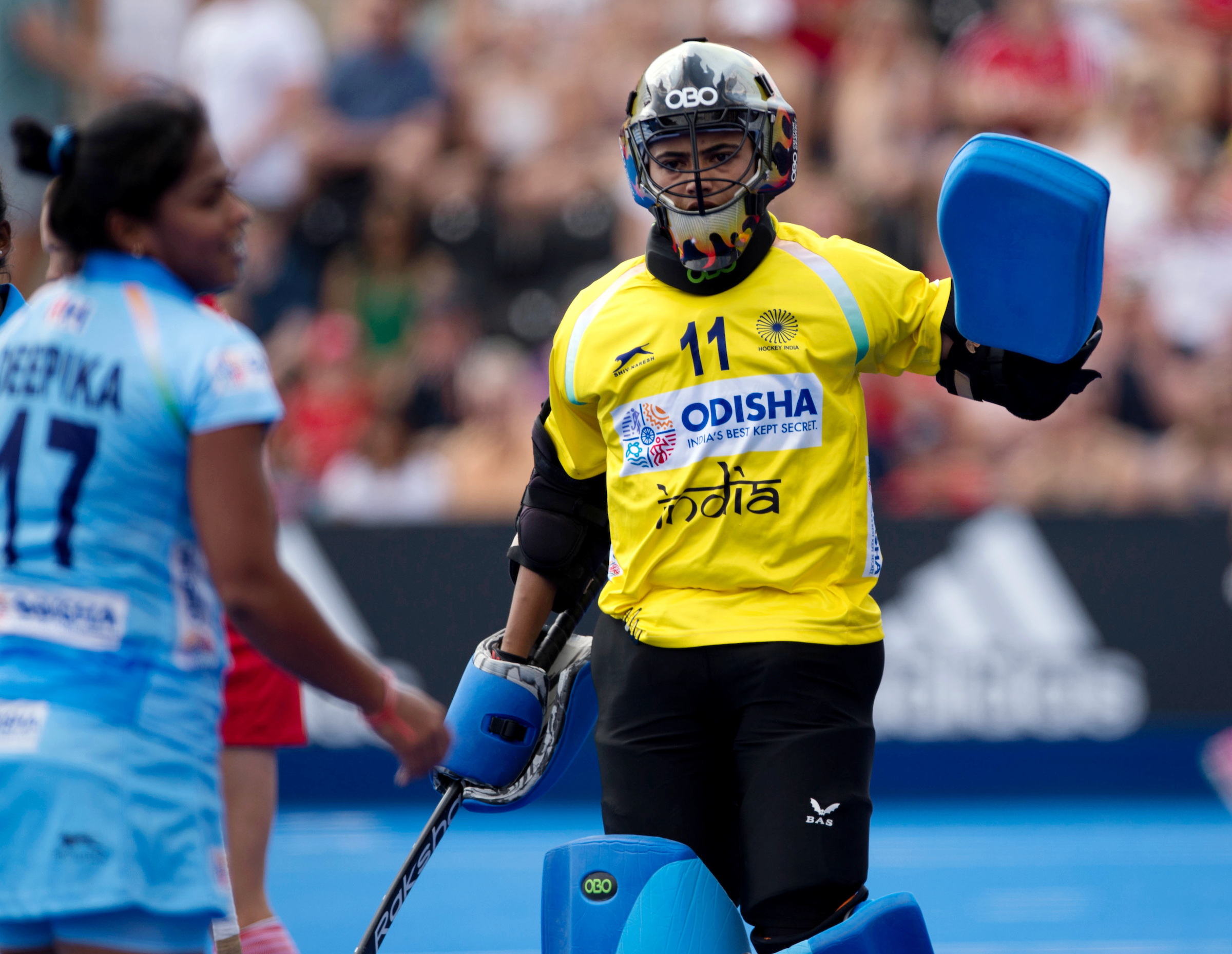 Hockey India congratulates Savita on completing 200 international Caps for India