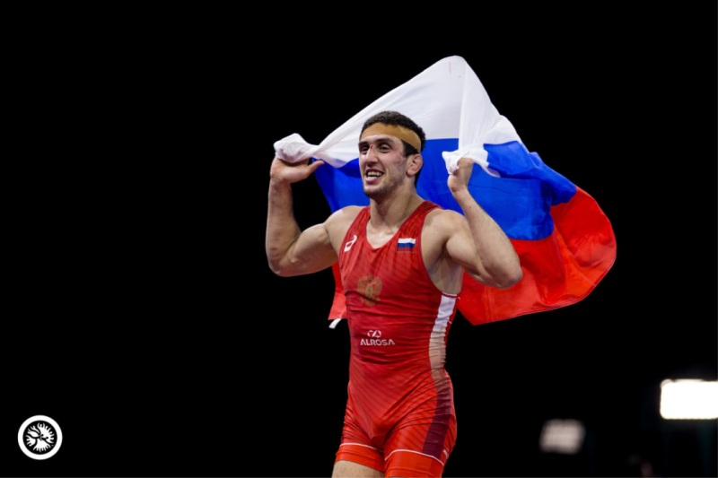 Sidakov Caps Magnificent Run with Gold, Petriashvili Repeats at Budapest (Hungary), World Wrestling Championship