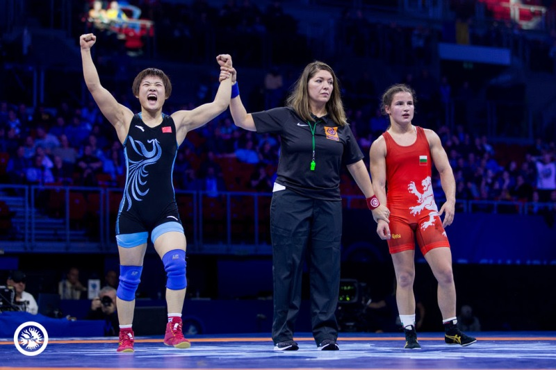 Susaki, Okuno Repeat as Japan Finishes With 4 Gold Medals in Women's Wrestling