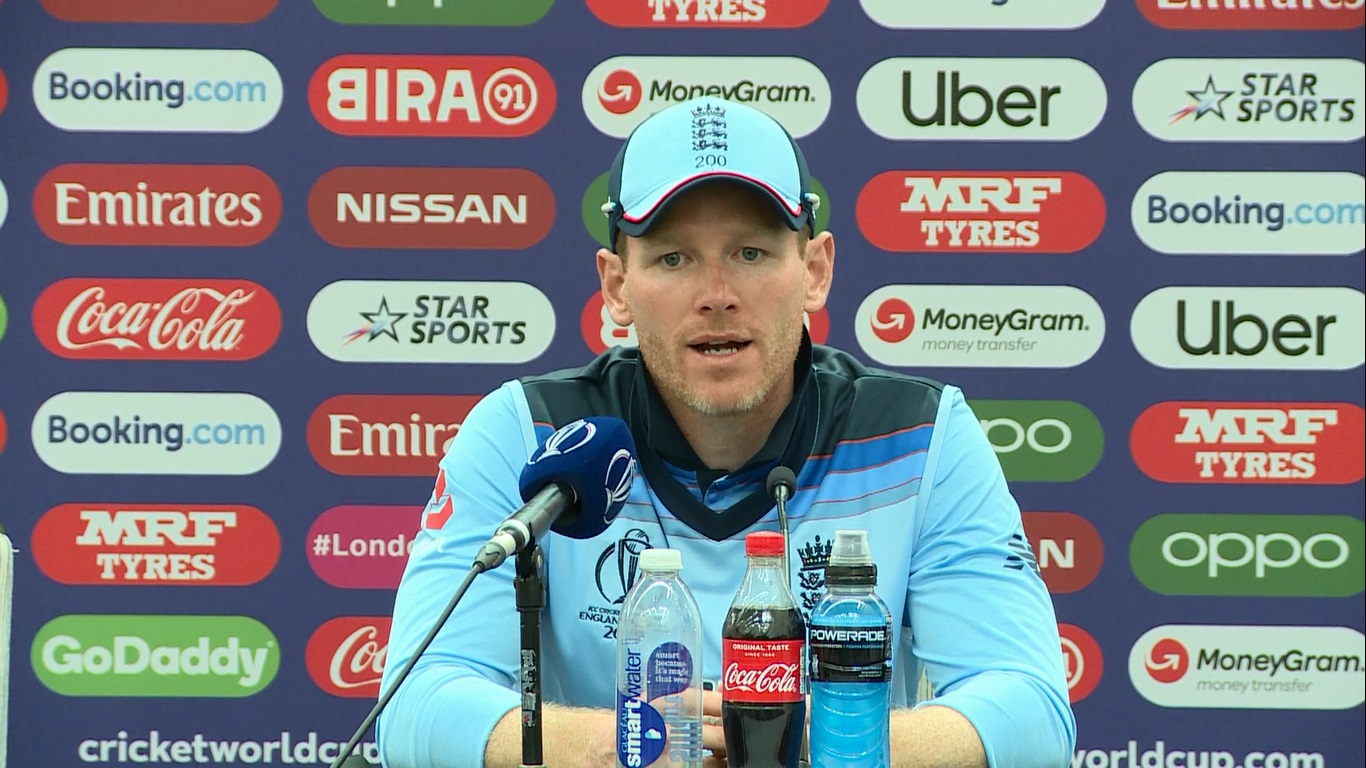 What Eoin Morgan told before the match against Sou