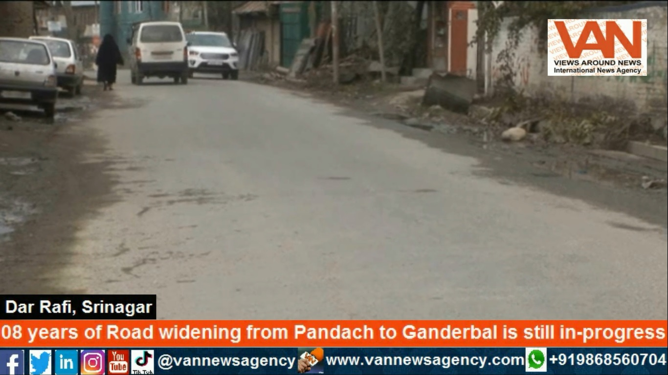 08 years on Road widening from Pandach to Ganderba