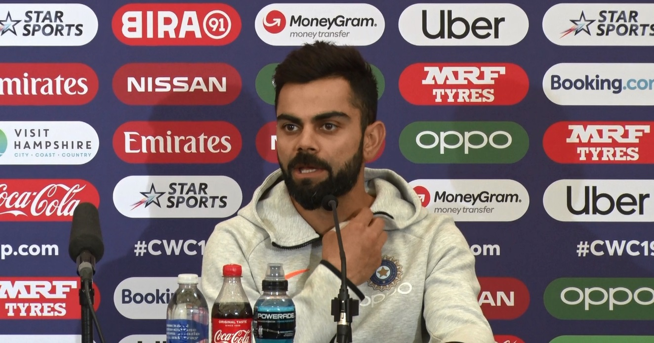 Virat Kohli briefed how they beat South Africa in