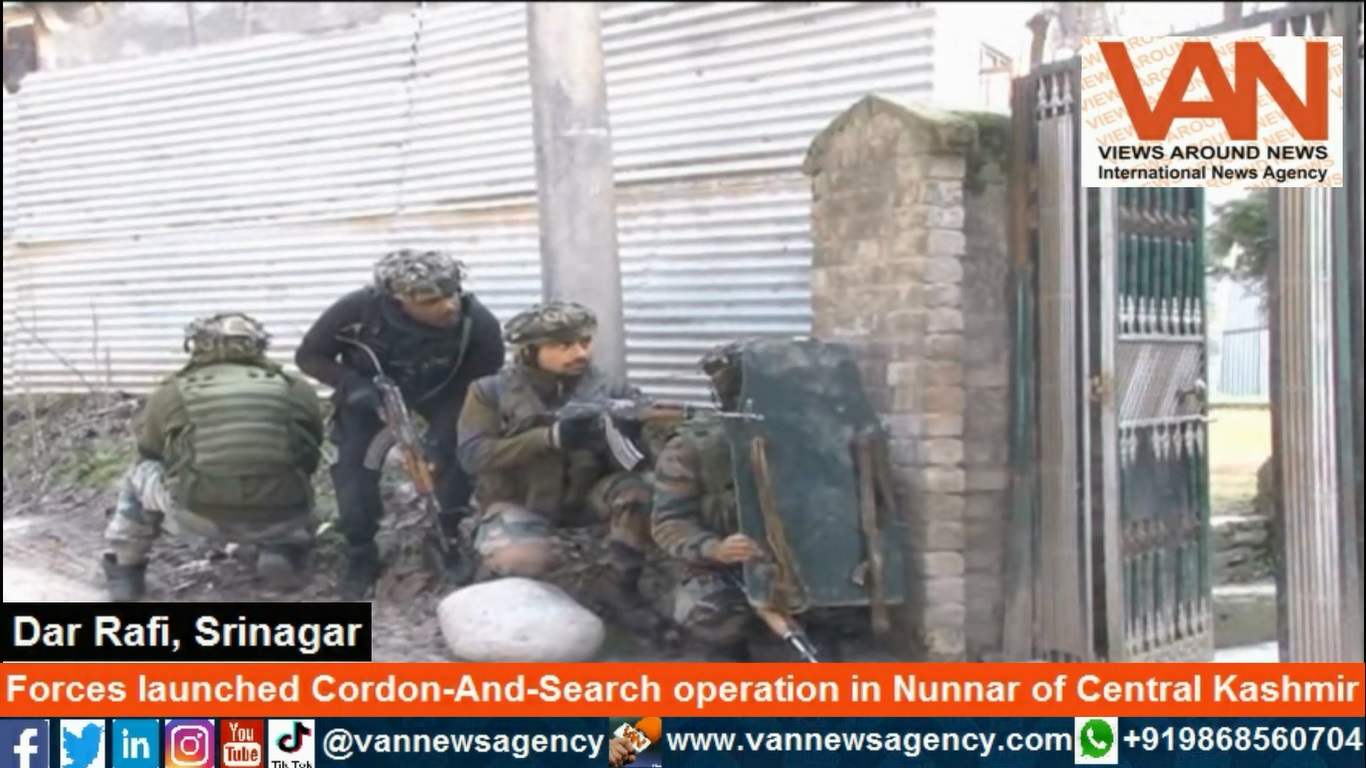 Forces launched Cordon-And-Search operation in Nun