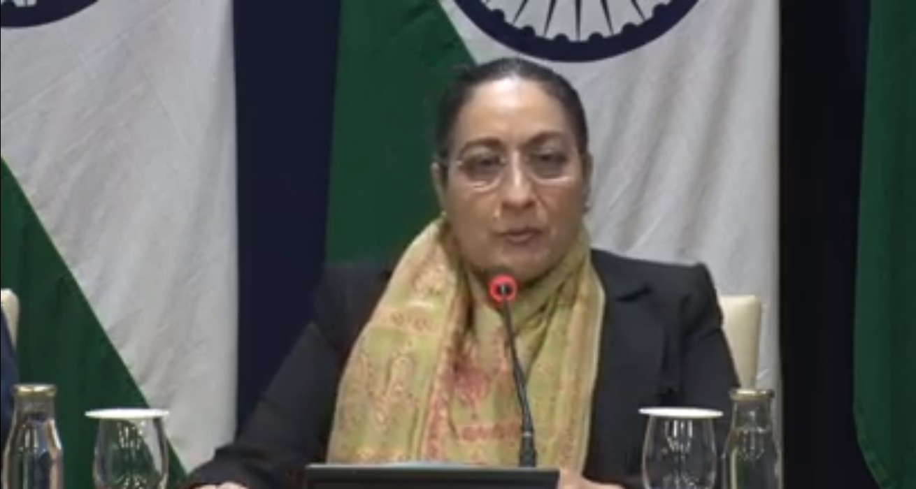 LIVE - Briefing by secretary on upcoming visit of