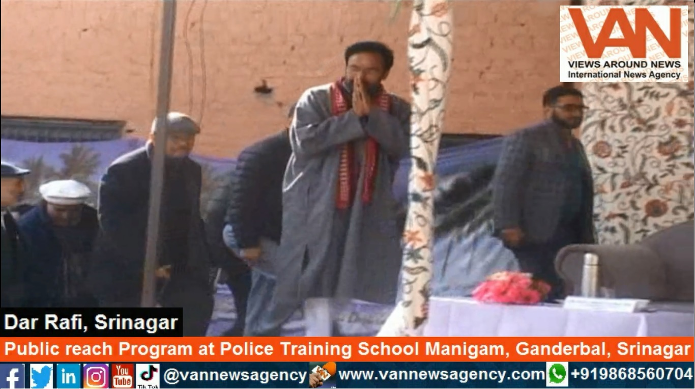Public Reach Program at Police Training School Manigam