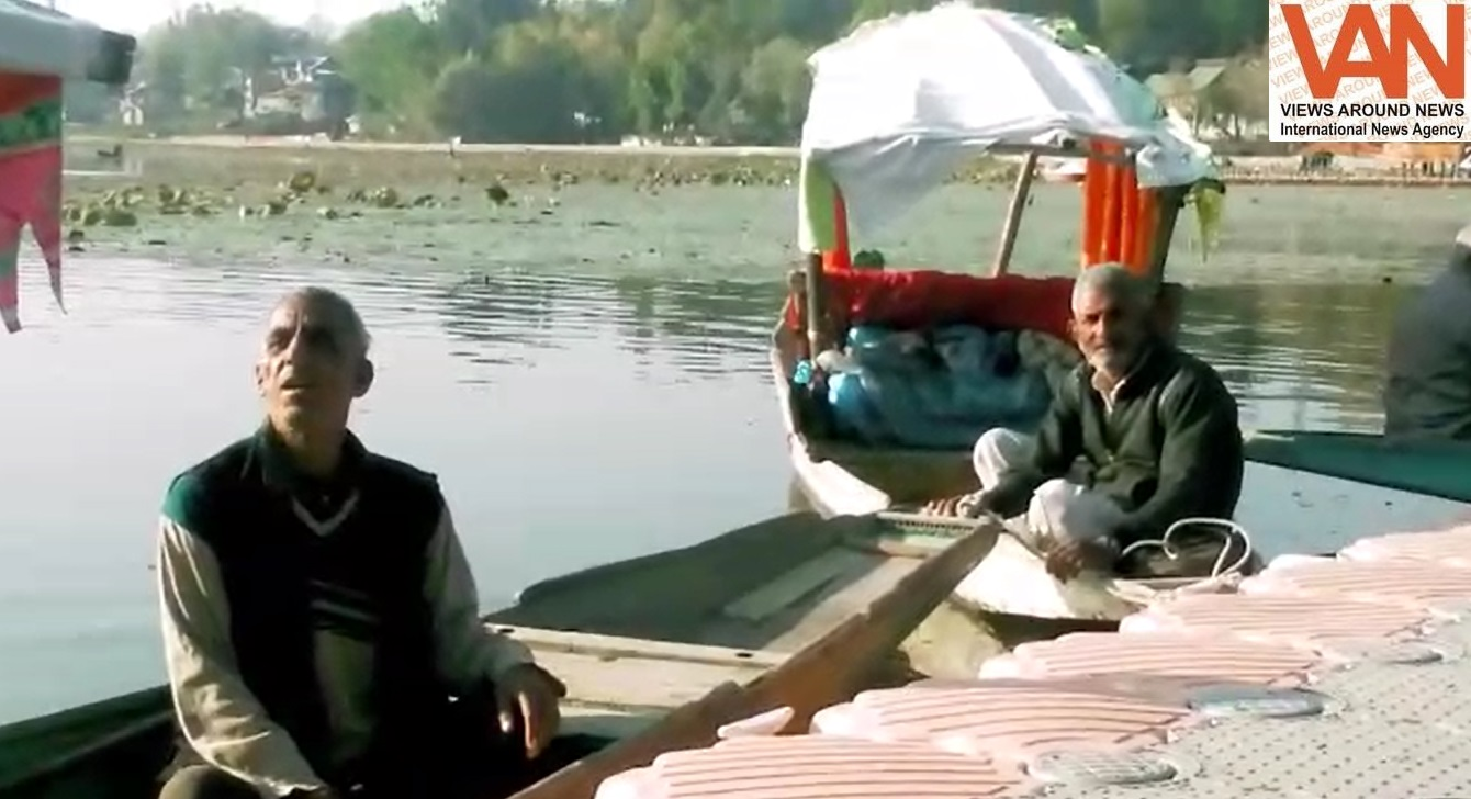 We are suffering from very huge loss due to employment opportunities - Boaters of Srinagar